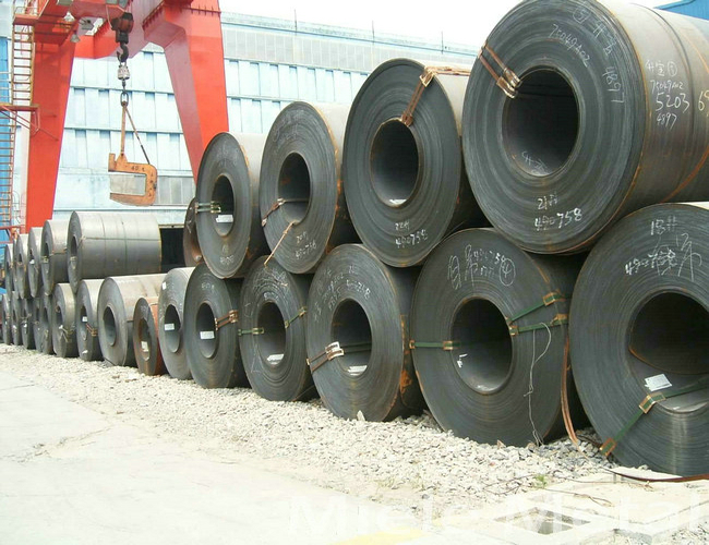 Q235B Q345B bright & black cold rolled steel coil