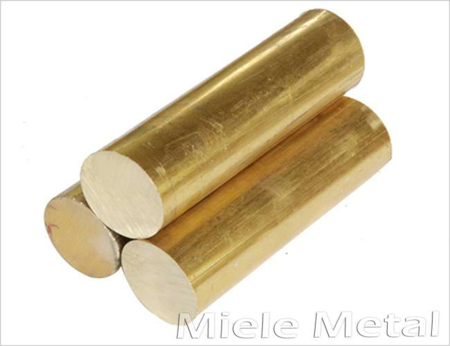 Brass rod copper alloy bar