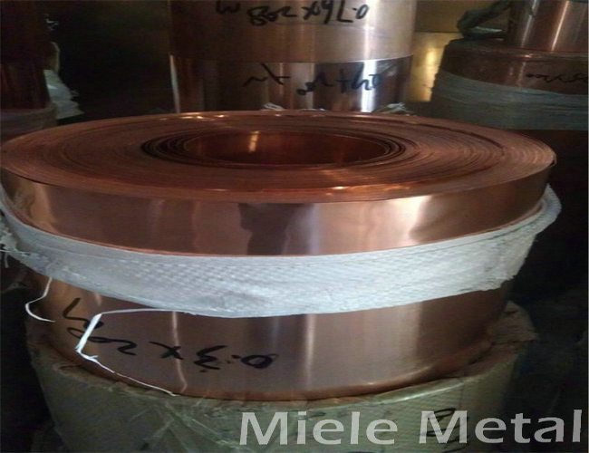 0.1mm thickness copper coil