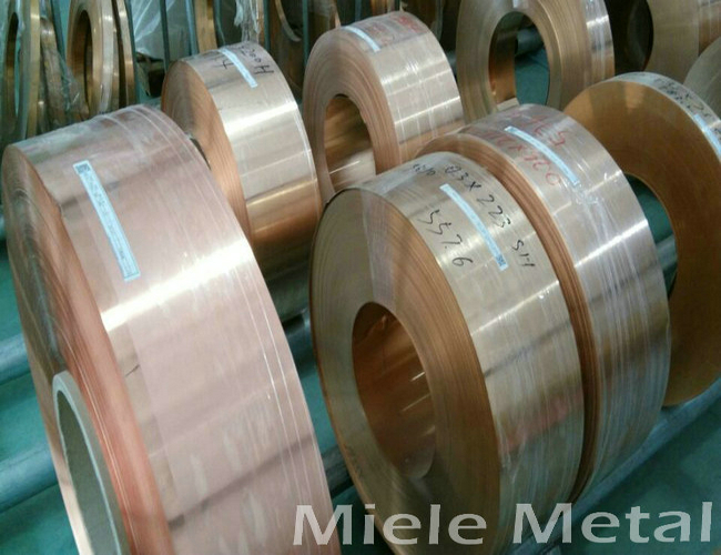 Cu-Zn-Fe alloy copper coil