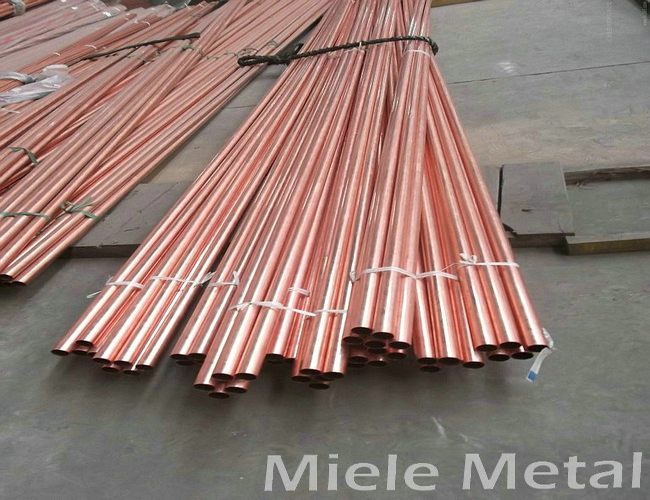Customized copper pipe for air conditioner low price