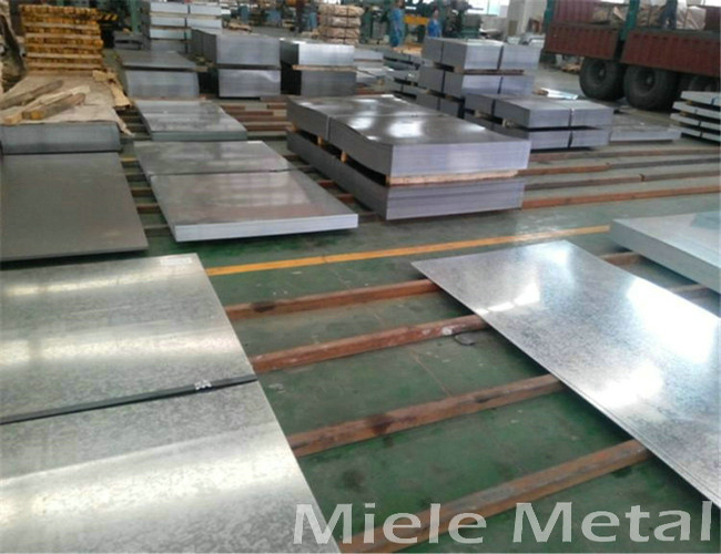 DX51D zinc coated steel sheet