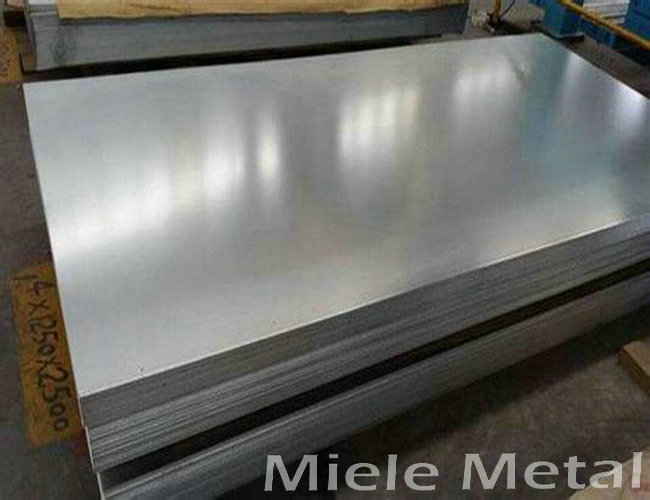 Electro galvanized steel sheet