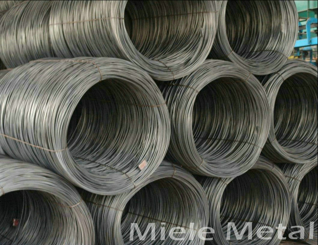 Q195 Q235 low carbon steel wire rod