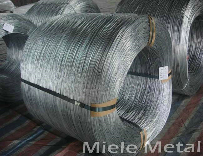 Hot sale galvanized steel wire