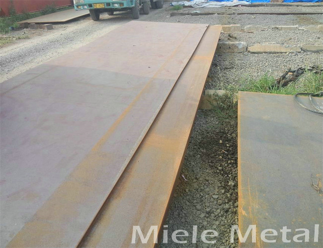 Substitution of A36 and Q235 steel plate