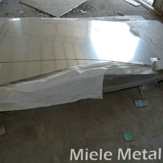 Area of stainless steel plate